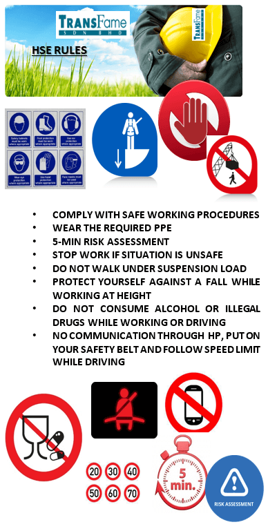HSE NEW RULES