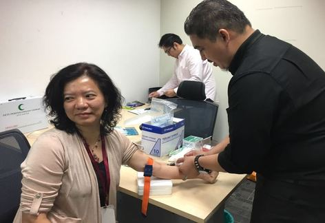 Blood test 1/6